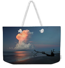 Weekender Tote Bag featuring the photograph Morning Glow by Ronald Santini