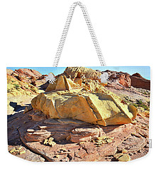 Morning In Wash 3 In Valley Of Fire Weekender Tote Bag
