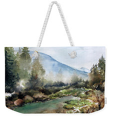 Morning Mist Weekender Tote Bag