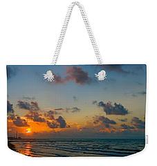 Morning On The Beach Weekender Tote Bag