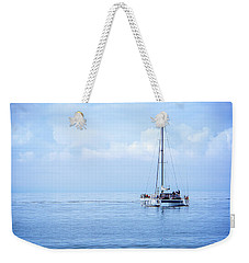Morning Sail Weekender Tote Bag by James Hammond