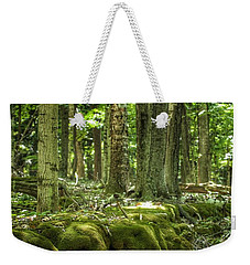 Mossy Forest Weekender Tote Bag by Nikki McInnes