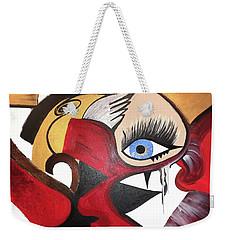 Motley Eye 2 Weekender Tote Bag