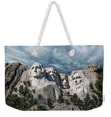 Mount Rushmore II Weekender Tote Bag by Tom Mc Nemar