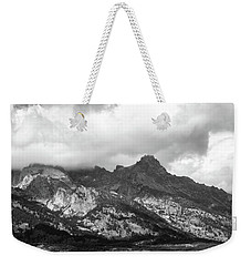 Weekender Tote Bag featuring the photograph Mountain Shadows by Colleen Coccia