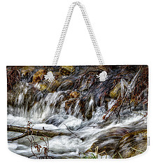 Mountain Stream Weekender Tote Bag by Elaine Malott