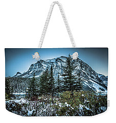 Weekender Tote Bag featuring the photograph Mountains by Bill Howard