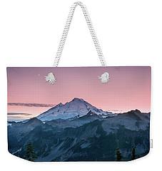 Mt. Baker Weekender Tote Bag