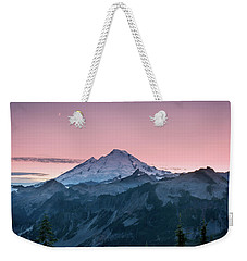 Weekender Tote Bag featuring the photograph Mt. Baker by Sabine Edrissi