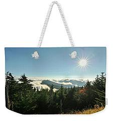 Mt Mitchell Landscape Weekender Tote Bag