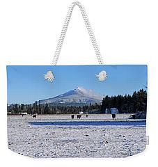 Mt. Pilchuck Weekender Tote Bag by Rebecca Parker