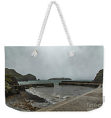 Weekender Tote Bag featuring the photograph Mullion Cove by Brian Roscorla