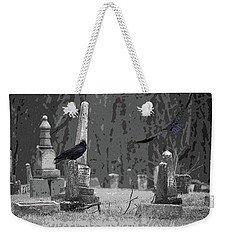 Weekender Tote Bag featuring the photograph Murder Of Crows by Rowana Ray