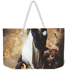 Murillo Immaculate Conception  Weekender Tote Bag by Bartolome Esteban Murillo