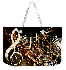 Musical Collection Weekender Tote Bag by Marvin Blaine