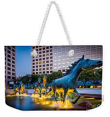 Mustangs At Las Colinas Weekender Tote Bag