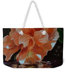 My Hibiscus Weekender Tote Bag