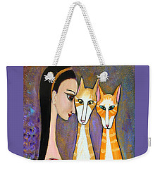 My Two Cats Weekender Tote Bag