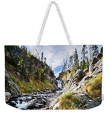 Mystic Falls Weekender Tote Bag by Shirley Mitchell