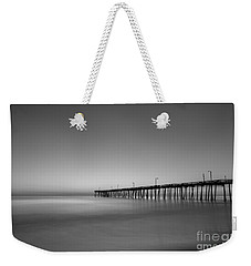 Nags Head Fishing Pier Sunrise Weekender Tote Bag