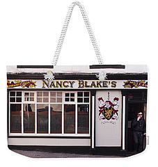 Nancy Blake's Irish Pub Weekender Tote Bag
