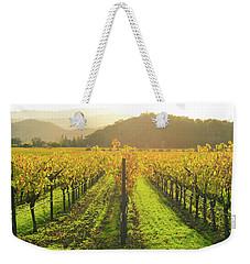 Napa Valley California Vineyard In The Fall Weekender Tote Bag