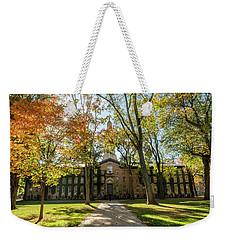 Nassau Hall Path Princeton University  Weekender Tote Bag