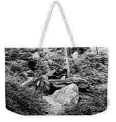 Weekender Tote Bag featuring the photograph Native American Caves  by Cole Thompson