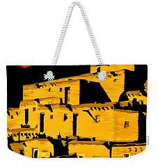 Native American Sunset Weekender Tote Bag