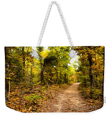 Nature Trail Weekender Tote Bag by Ricky Dean