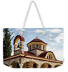 Near Nea Kios Greece Weekender Tote Bag by Shirley Mitchell