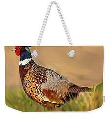 Nebraska Pheasant Weekender Tote Bag