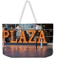 Neon Plaza Weekender Tote Bag