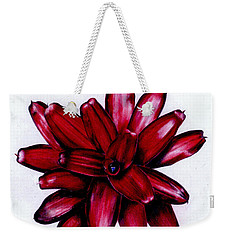 Neoregelia 'christmas Cheer' Weekender Tote Bag
