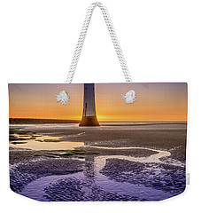 New Brighton Lighthouse Weekender Tote Bag