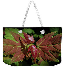 New Leaves Weekender Tote Bag