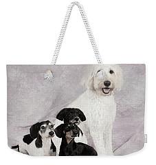 Fur Friends Weekender Tote Bag by Erika Weber