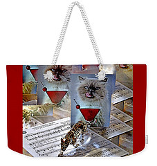 New Upload Weekender Tote Bag by Phyllis Kaltenbach