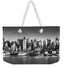 New York City Panorama Weekender Tote Bag