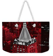 New York Life Building Weekender Tote Bag