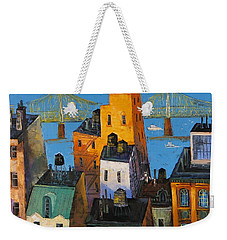 New York Weekender Tote Bag by Mikhail Zarovny