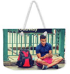 New York Subway Station Weekender Tote Bag