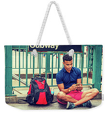New York Subway Station Weekender Tote Bag