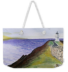 New Zealand Lighthouse Weekender Tote Bag