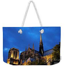 Night Paris Weekender Tote Bag
