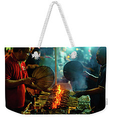 Night Satay II Weekender Tote Bag