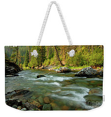 North Fork Of The St. Joe Weekender Tote Bag