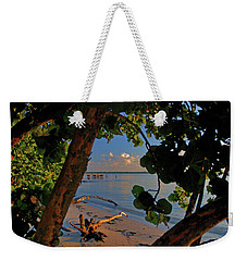 Weekender Tote Bag featuring the photograph 1- North Palm Beach by Joseph Keane