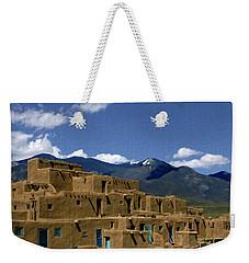 North Pueblo Taos Weekender Tote Bag
