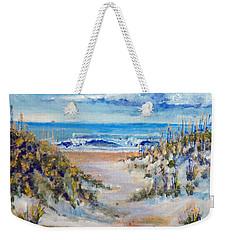 North Topsail Beach Weekender Tote Bag by Jim Phillips